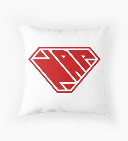 Power Nap (Red) Throw Pillow