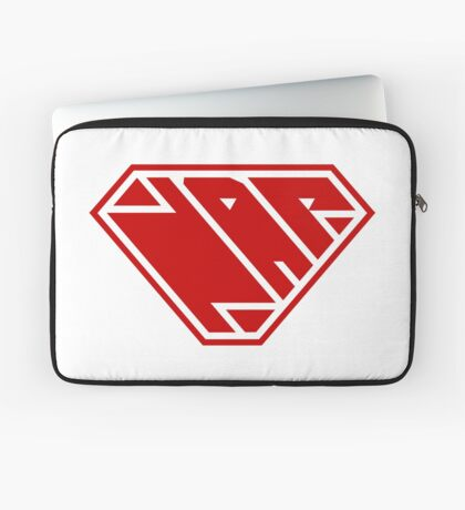 Power Nap (Red) Laptop Sleeve
