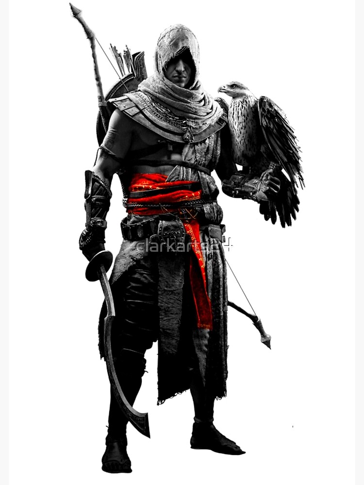 Bayek Greeting Card By Clarkarts24 Redbubble