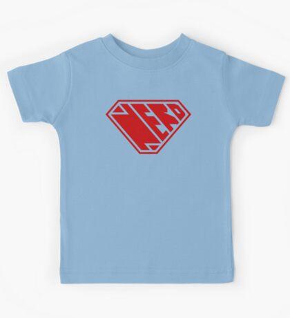 Nerd SuperEmpowered (Red) Kids Clothes