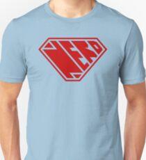 Nerd SuperEmpowered (Red) Unisex T-Shirt
