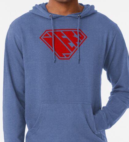 Nerd SuperEmpowered (Red) Lightweight Hoodie