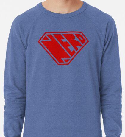 Nerd SuperEmpowered (Red) Lightweight Sweatshirt