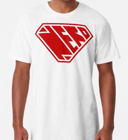Nerd SuperEmpowered (Red) Long T-Shirt