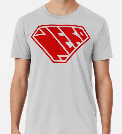 Nerd SuperEmpowered (Red) Premium T-Shirt