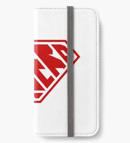 Nerd SuperEmpowered (Red) iPhone Wallet