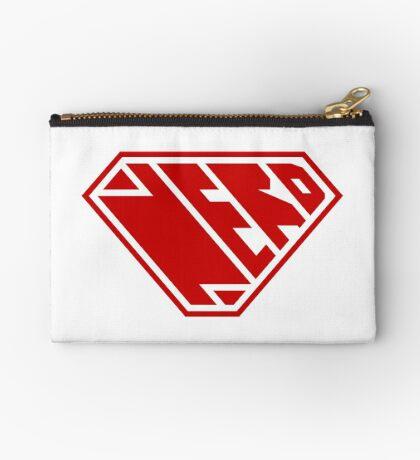 Nerd SuperEmpowered (Red) Zipper Pouch