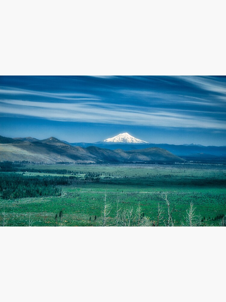 Hat Creek Rim - PCT view of Mt. Shasta by designfly