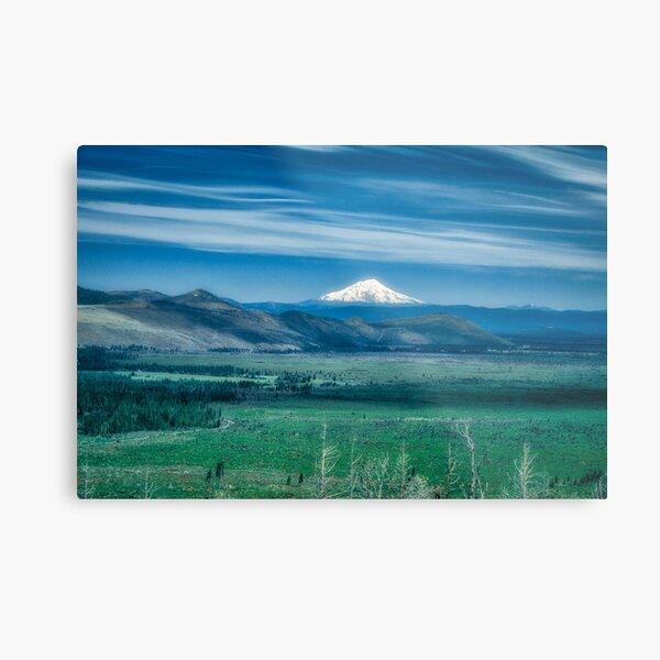 Hat Creek Rim - PCT view of Mt. Shasta Metal Print