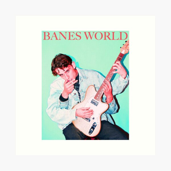 BANES WORLD Art Print