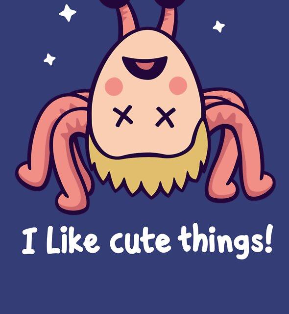 I Like Cute Things! by DoodleDojo