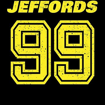 Brooklyn Nine Nine Jeffords Team Number 99 Shirt by Clort