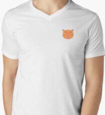 Happy Cat Men's V-Neck T-Shirt