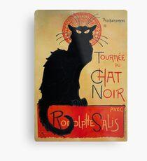 Lámina metálica 'Tournee du Chat Noir' de Theophile Steinlen (Reproducción)