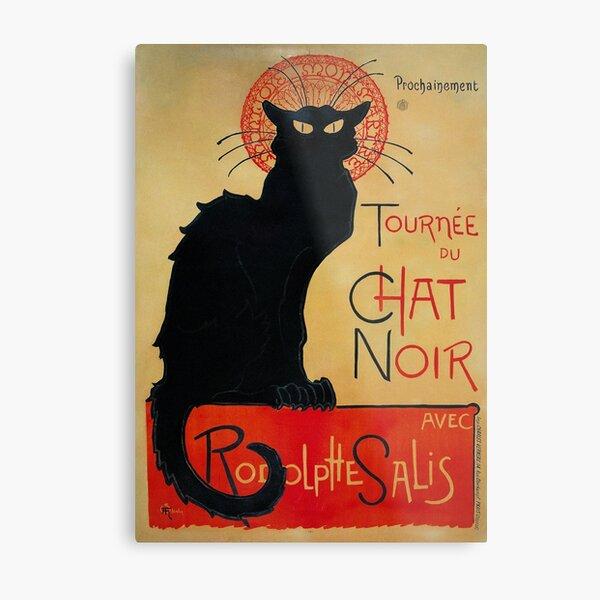 'Tournee du Chat Noir' by Theophile Steinlen (Reproduction) Metal Print