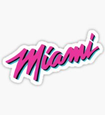 Miami Heat Vice Sticker