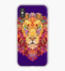 Geometric Lion iPhone Case