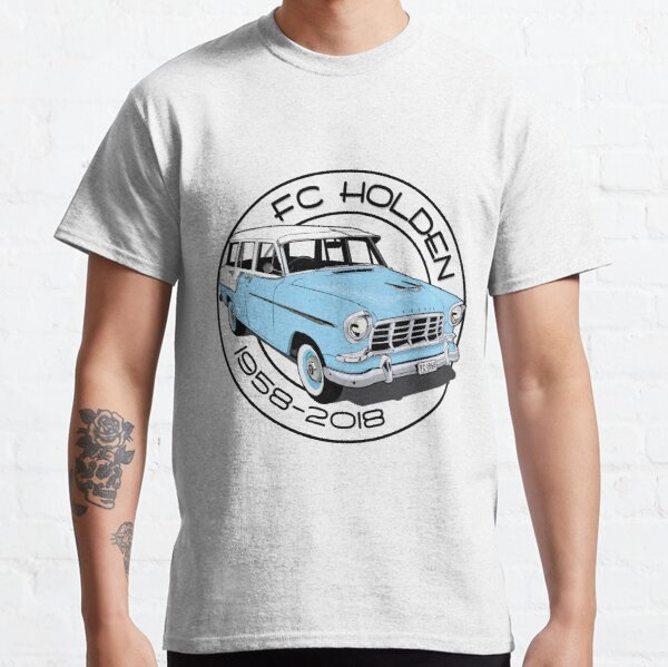 FC Holden - wagon - Blue and white Classic T-Shirt
