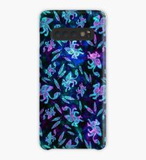 Gryphon Batik - Jewel Tones Case/Skin for Samsung Galaxy
