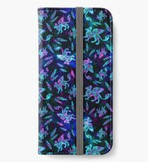 Gryphon Batik - Jewel Tones iPhone Wallet/Case/Skin