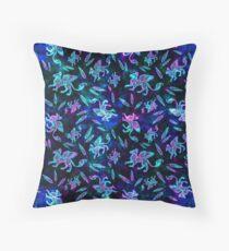 Gryphon Batik - Jewel Tones Throw Pillow