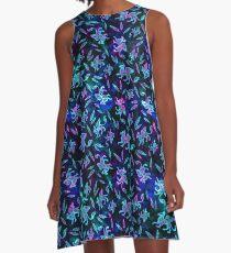 Gryphon Batik - Jewel Tones A-Line Dress