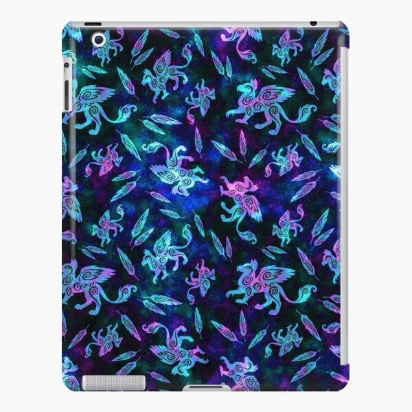 Gryphon Batik - Jewel Tones iPad Snap Case