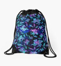 Gryphon Batik - Jewel Tones Drawstring Bag