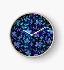 Gryphon Batik - Jewel Tones Clock