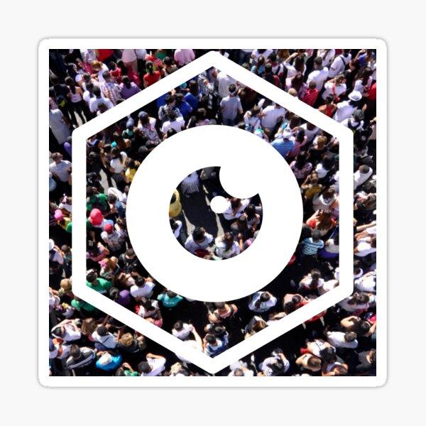 DRW logo - The Eye Sticker