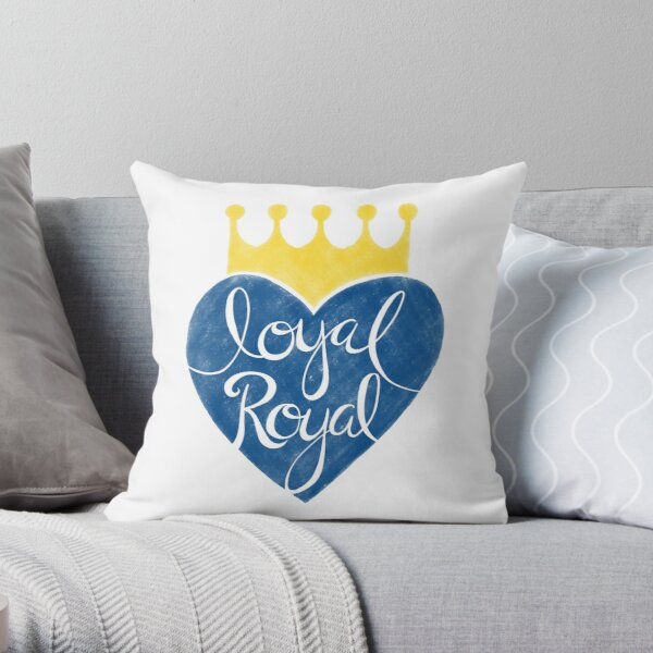 Kansas City Loyal Royal Throw Pillow