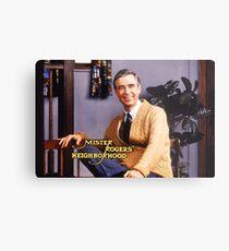 Mister Rogers' Neighborhood Metal Print