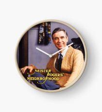 Herr Rogers & # 39; Gegend Uhr