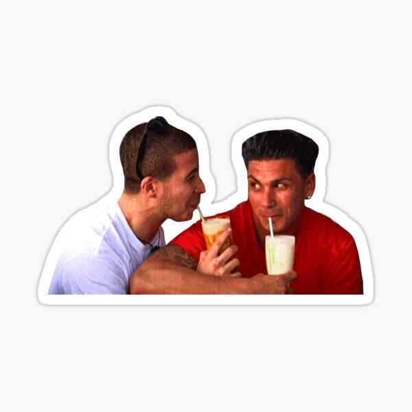 Vinny & Pauly D Sticker