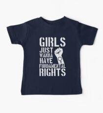 Girls just wanna have fundamental rights. Kids Clothes