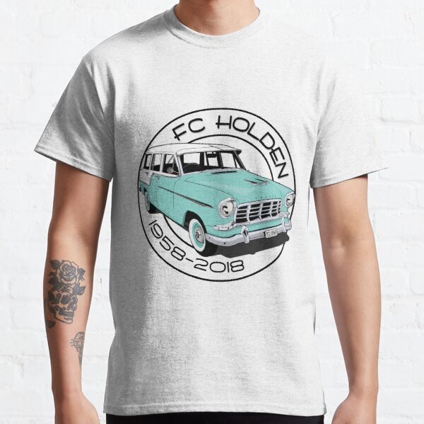 FC Holden - wagon - green & white Classic T-Shirt