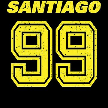 Brooklyn Nine Nine Santiago Team Number 99 Shirt by Clort