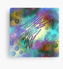 In the beginning there were microbes  Canvas Print