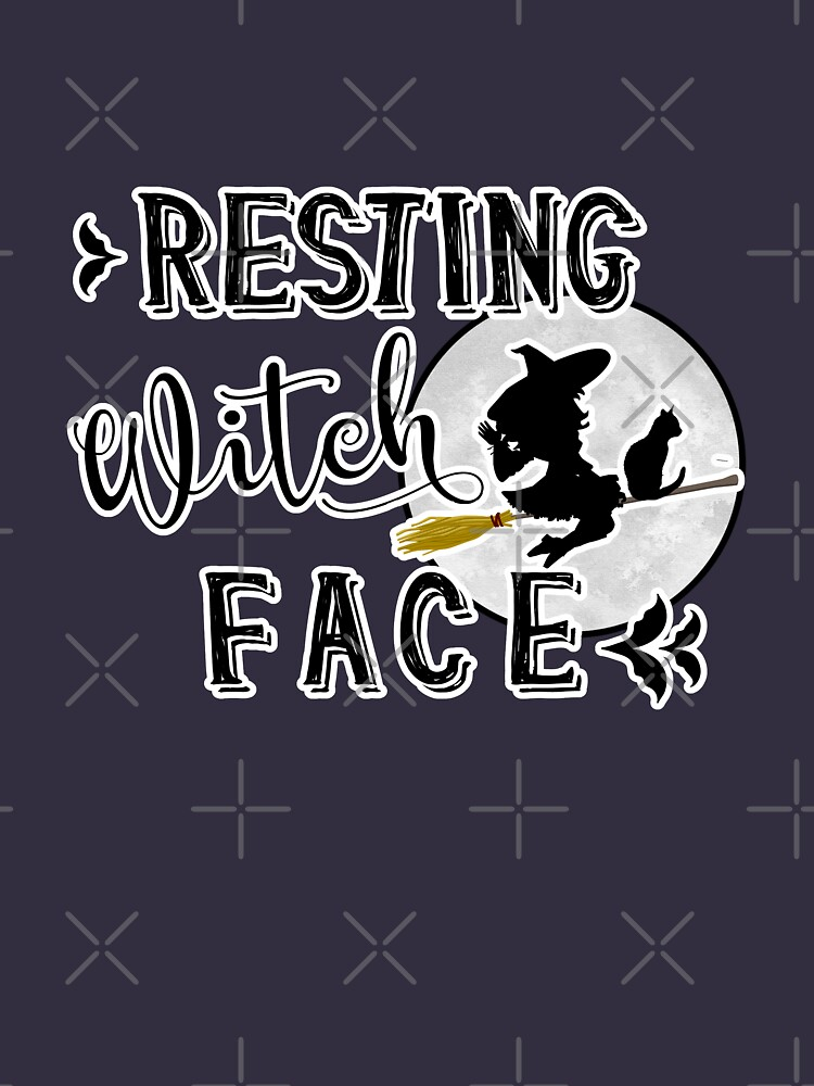 resting witch face by parapopulous