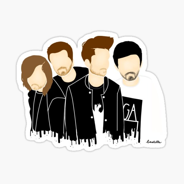Triangle Boys Sticker