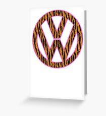 Animal Skin VW Greeting Card