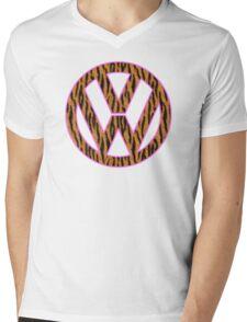 Animal Skin VW Mens V-Neck T-Shirt