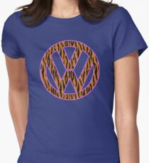 Animal Skin VW Womens Fitted T-Shirt