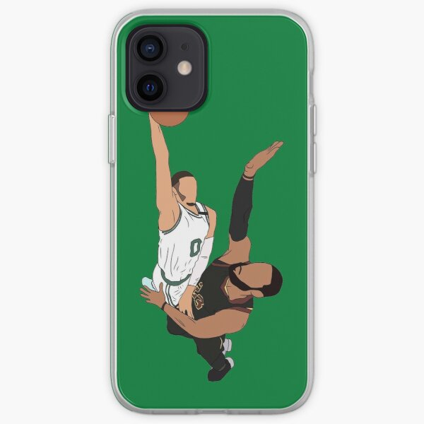 Jayson Tatum Dunks On LeBron iPhone Soft Case