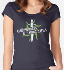 Closing Rifts & Taking Names Women's Fitted Scoop T-Shirt