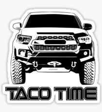 Taco Time- Toyota Tacoma 3rd Gen Sticker