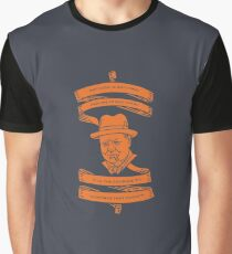 Winston Churchill: Success & Courage Graphic T-Shirt