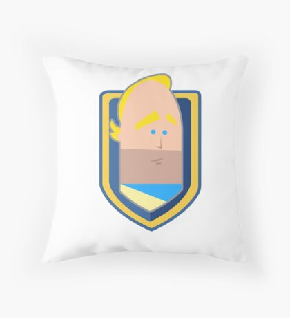 Ser Friend Zone Throw Pillow