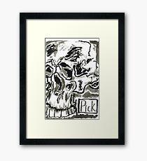 Skull series 1 - l Framed Print