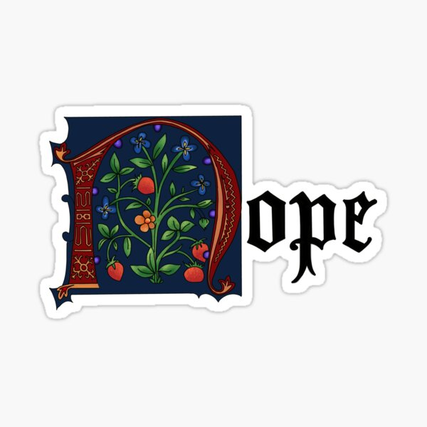 Illuminated Nope Sticker